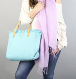 shopper turquoise