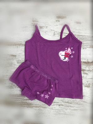 DICE Ondergoed set Top & Hipster Cute little IJs paars