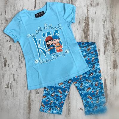 DICE Kiss pyjama blauw