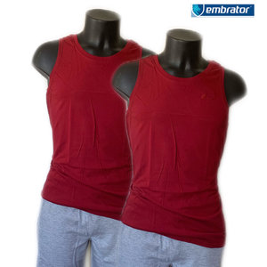 embrator mouwloos t-shirt